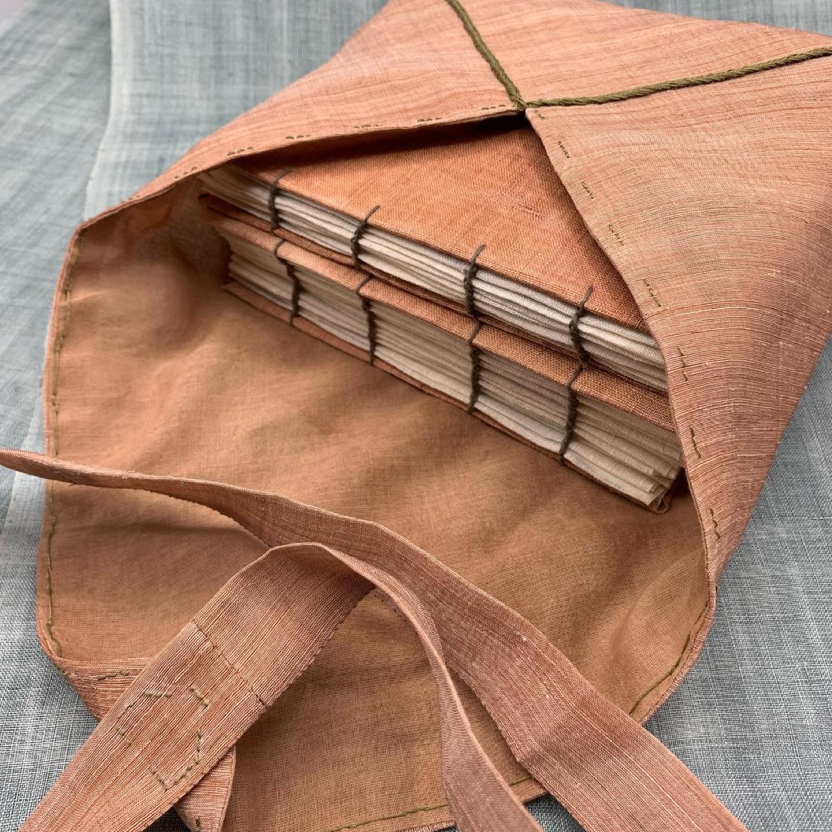 Bojagi Stitch Sample Books   Traditional Korean Textile Arts With Youngmin Lee on the Megan Nielsen Patterns Blog