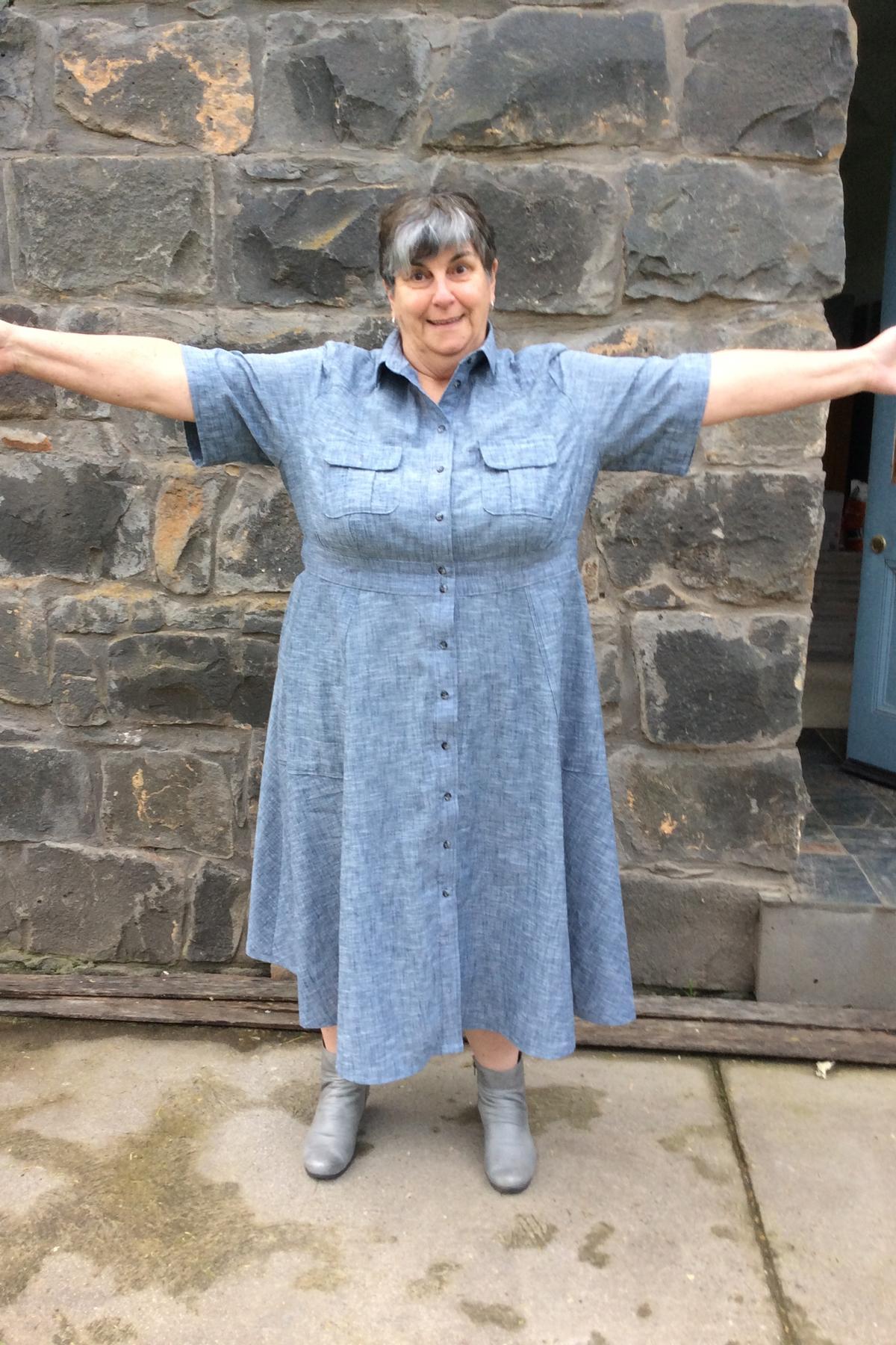 Sue's Matilda Curve Tester Make