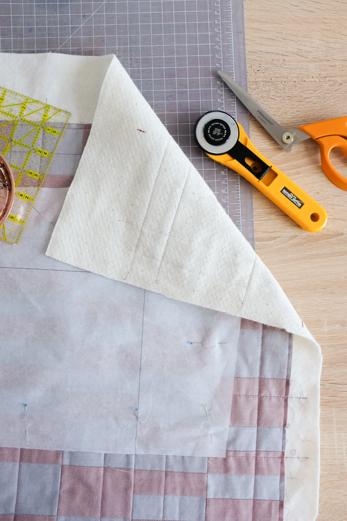 Quilt Sandwich | Beginner Quilting Concepts with Wendy Chow The Weekend Quilter