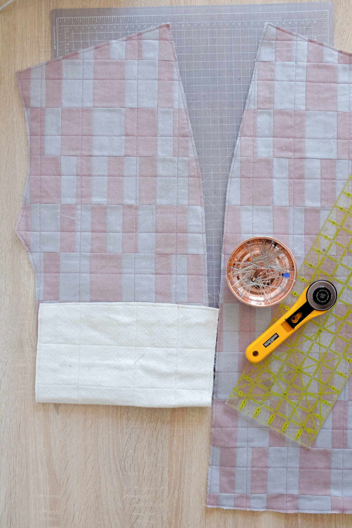 Cutting out Panels | Beginner Quilting Concepts with Wendy Chow The Weekend Quilter