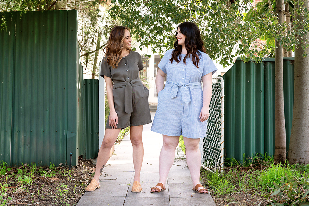 How to choose between the Durban and Durban Curve sewing patterns by Megan Nielsen Patterns
