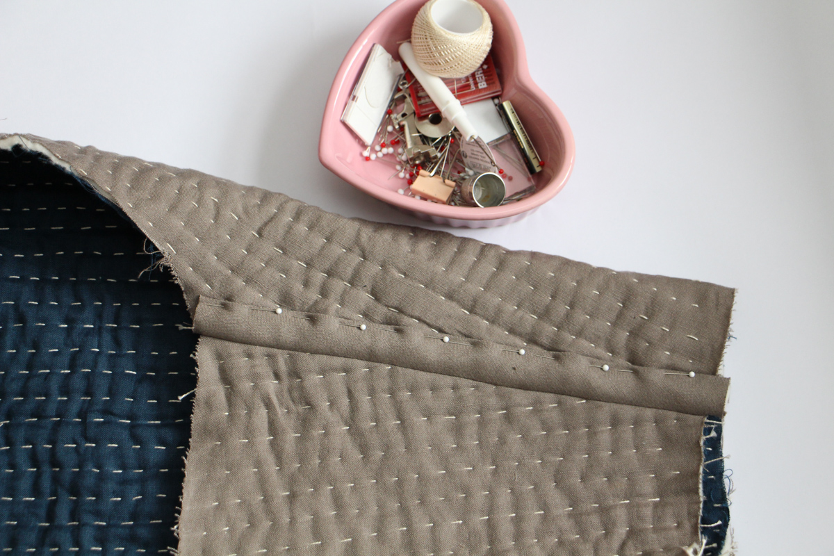Hand Sewing Thread | Tips for Hand Quilting the Hovea Jacket