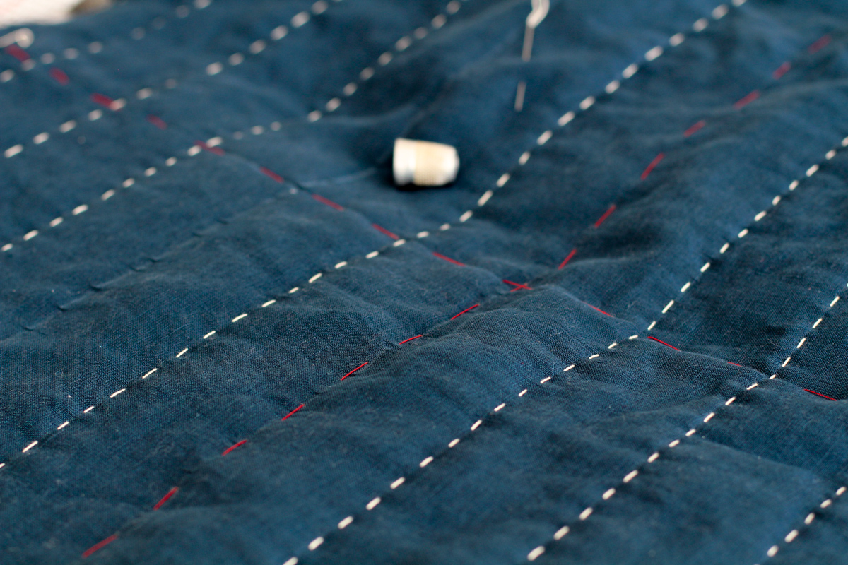Use a Thimble | Tips for Hand Sewing the Hovea Jacket