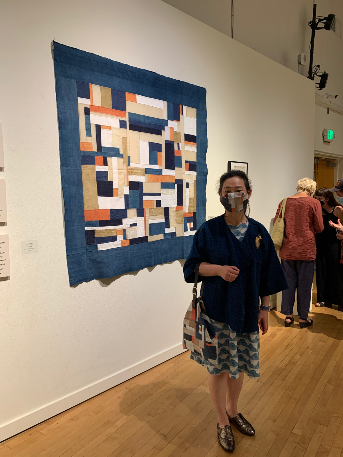 Youngmin at Fibre Arts Exhibition   Traditional Korean Textile Arts With Youngmin Lee on the Megan Nielsen Patterns Blog