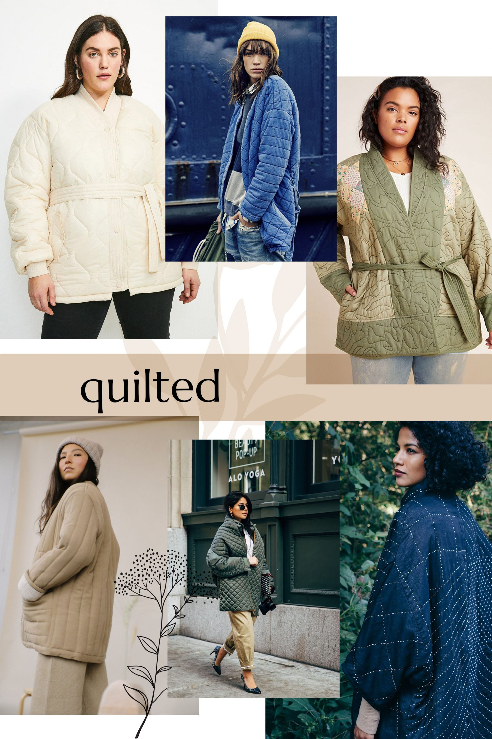 Quilted inspiration for your Hovea Jacket