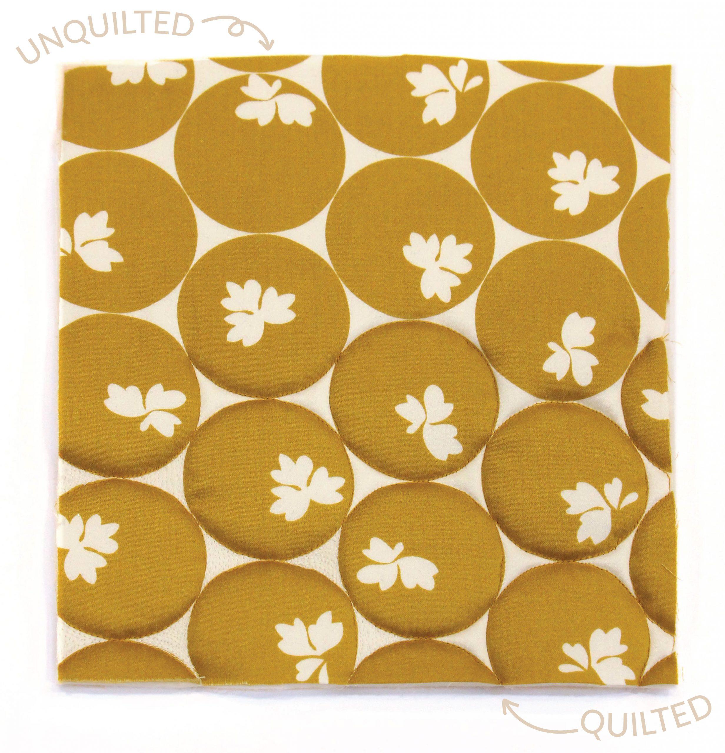 Megan Nielsen Patterns | Hovea Sewalong: Quilting Design | Quilting Patterned Fabric