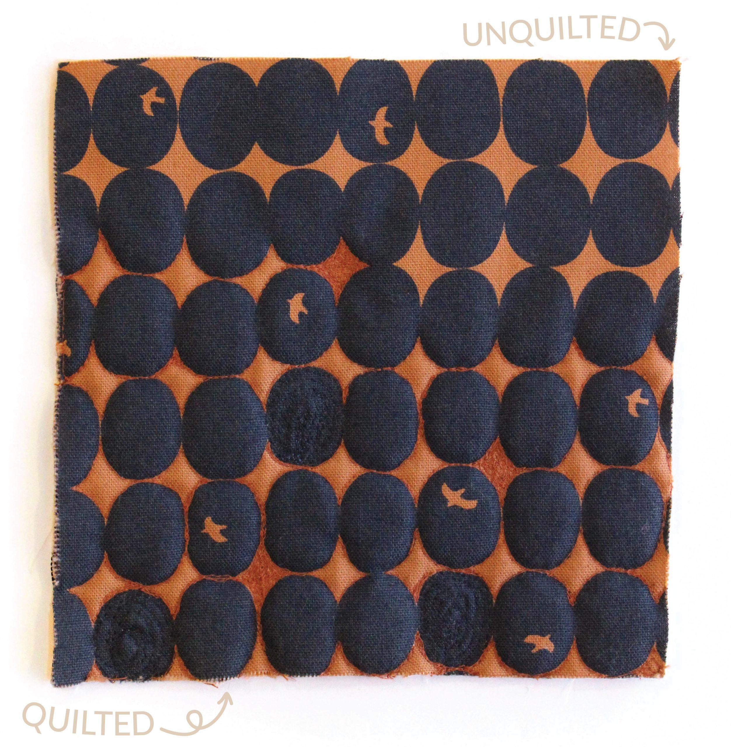 Megan Nielsen Patterns | Hovea Sewalong: Quilting Design | Quilting On Patterned Fabrics