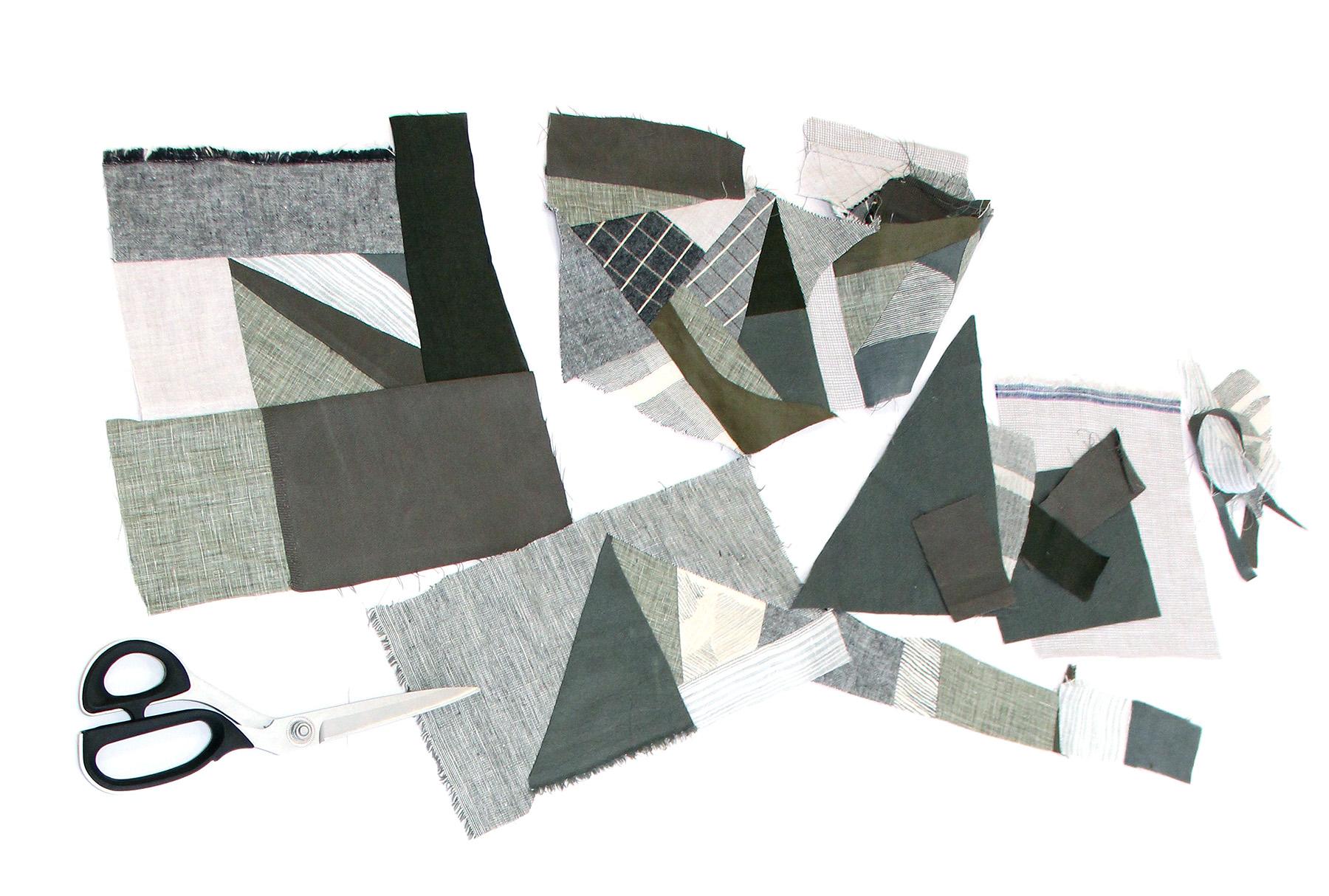 Megan Nielsen Patterns | Hovea Sewalong: Scrap Quilting | Finding Pieces That Fit Together & Building Blocks