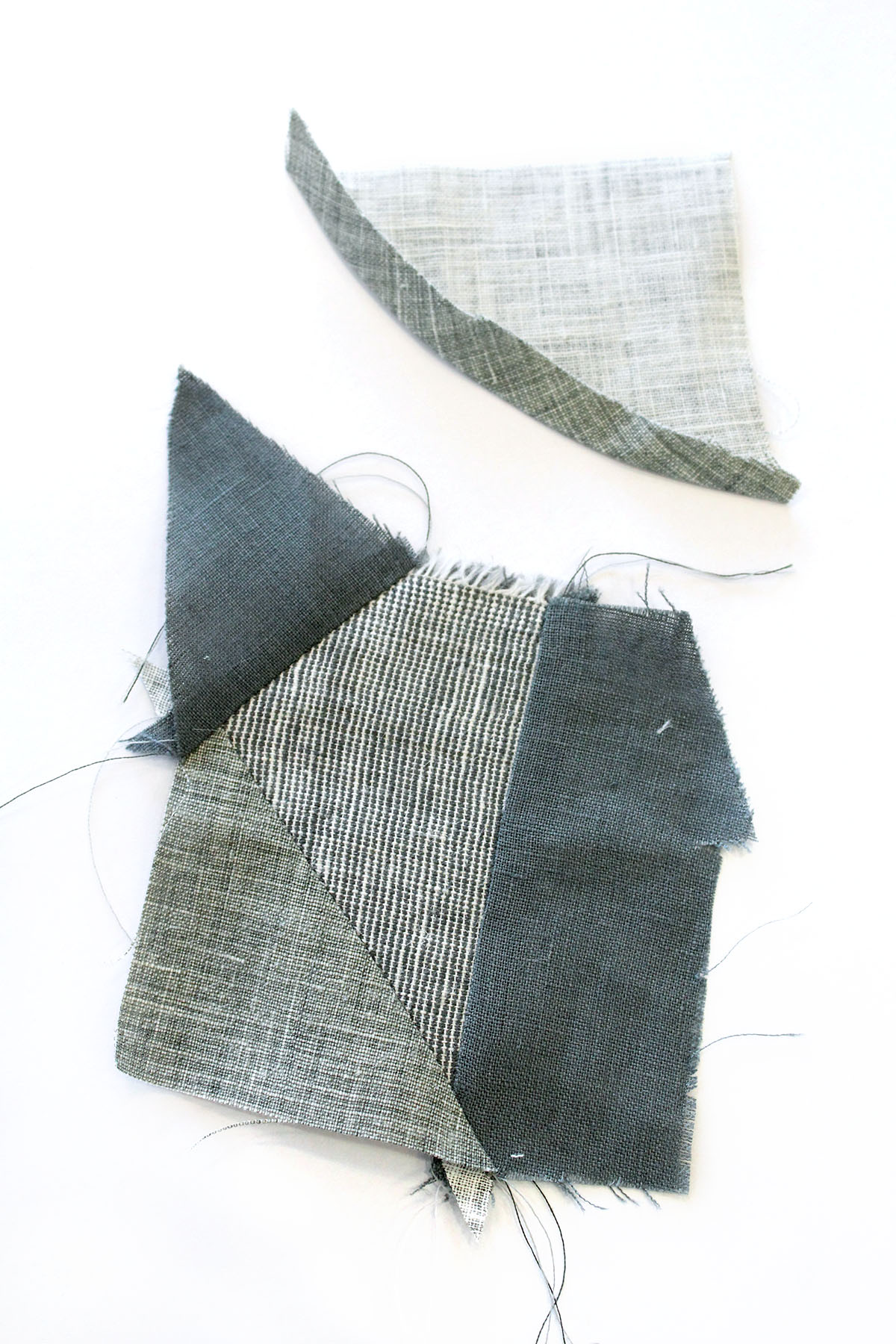 Megan Nielsen Patterns | Hovea Sewalong: Scrap Quilting | Curved Seams - The Applique Method