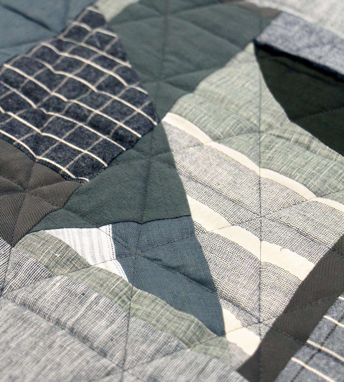 Megan Nielsen Patterns | Hovea Sewalong: Scrap Quilting | Intersecting Lines