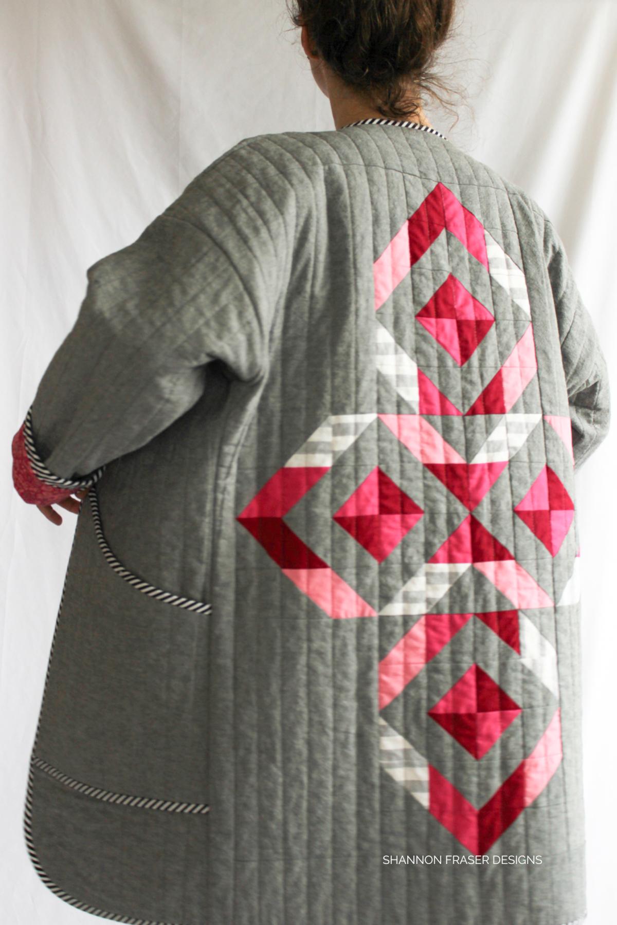 Shannon Fraser shares 10 tips for beginner quilt coat makers | Megan Nielsen Patterns