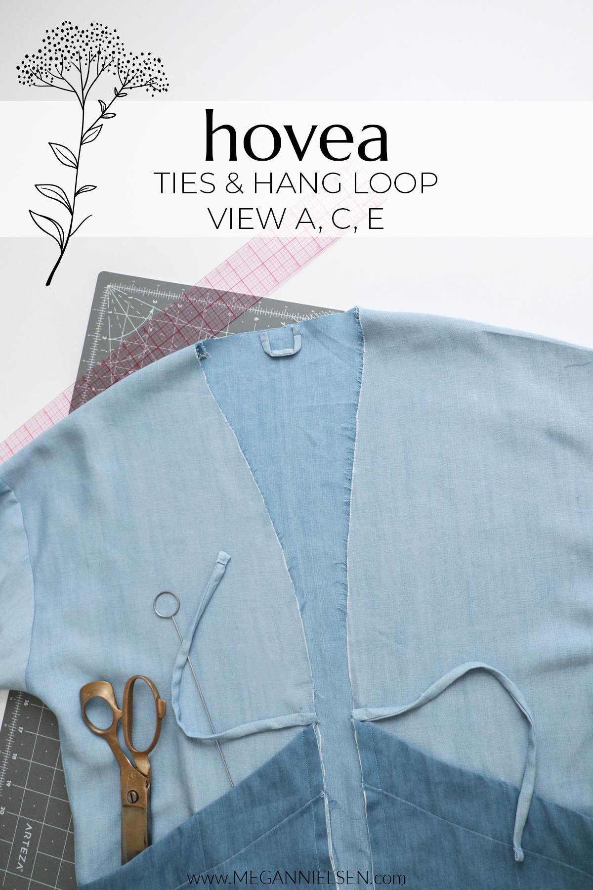 Hovea View A, C & E Ties & Hang Loop