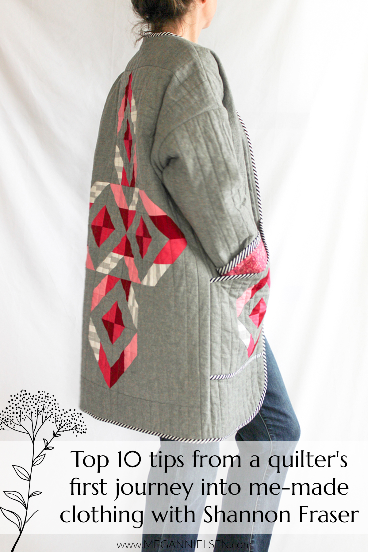 Top 10 tips from a modern quilter's first journey into me-made clothing with Shannon Fraser Designs | Megan Nielsen Patterns Blog