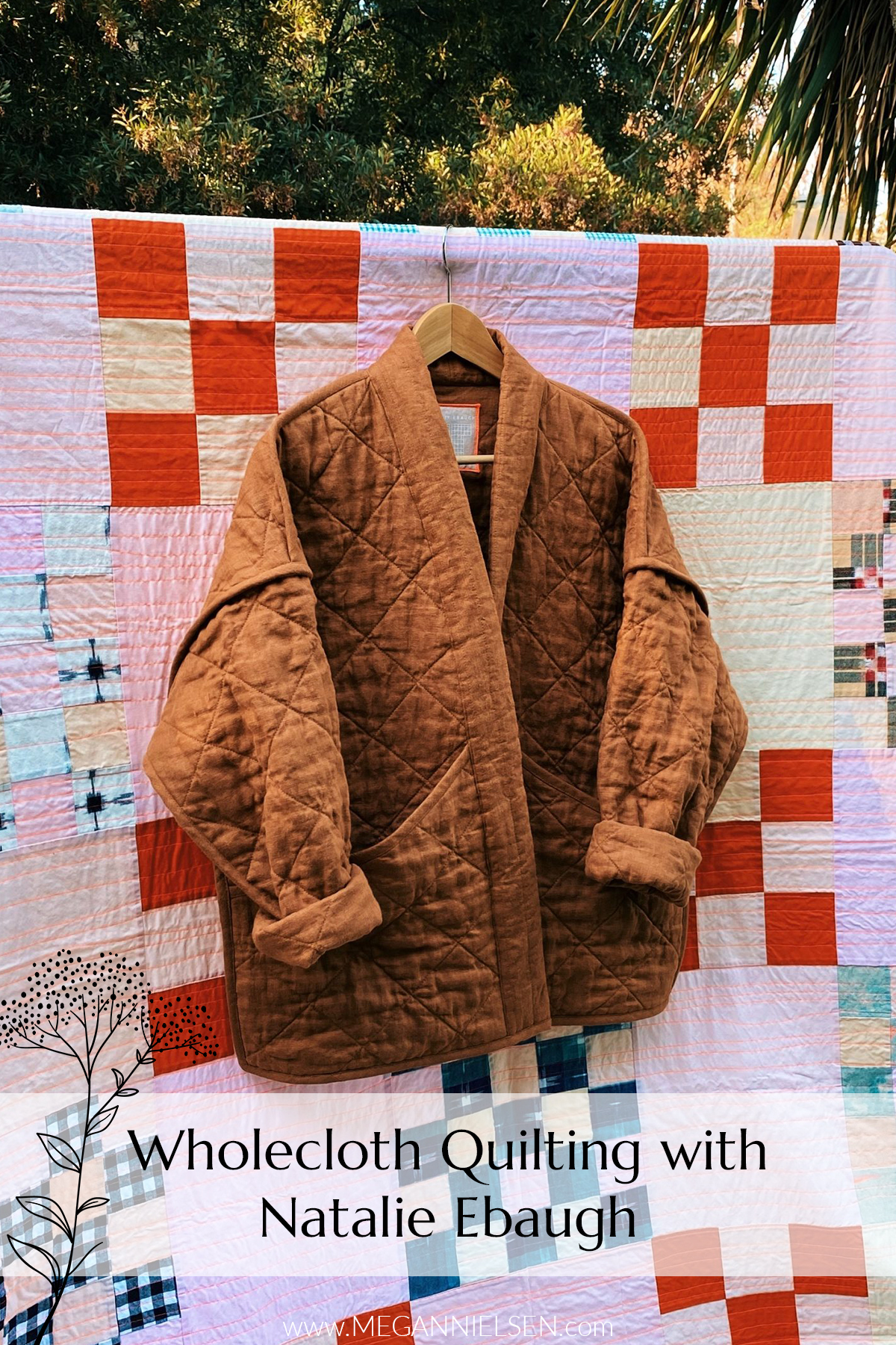 Wholecloth quilting with Natalie Ebaugh