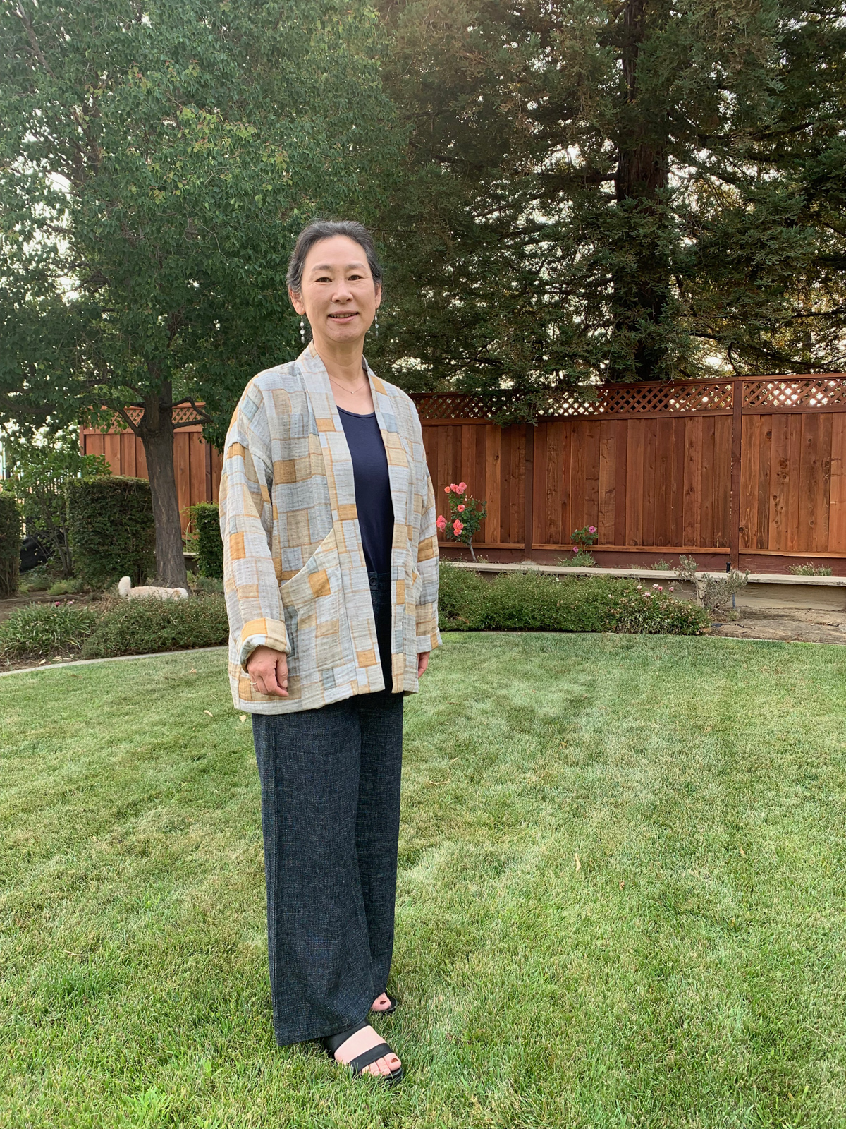 Youngmin's Ssamsol Hovea Jacket   Traditional Korean Textile Arts With Youngmin Lee on the Megan Nielsen Patterns Blog