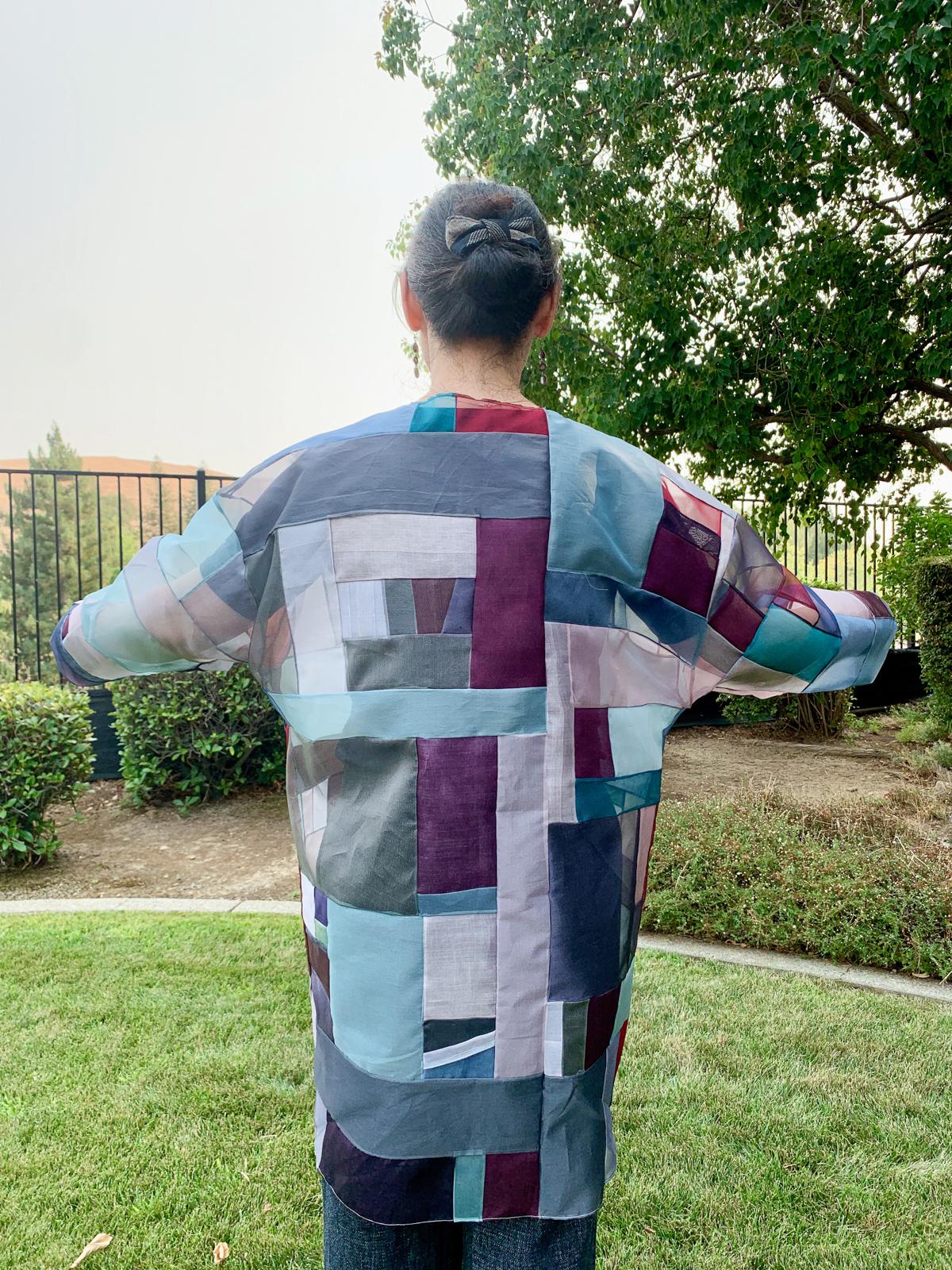 Gopsol (Kkekki)Jogakbo Hovea Jacket   Traditional Korean Textile Arts With Youngmin Lee on the Megan Nielsen Patterns Blog