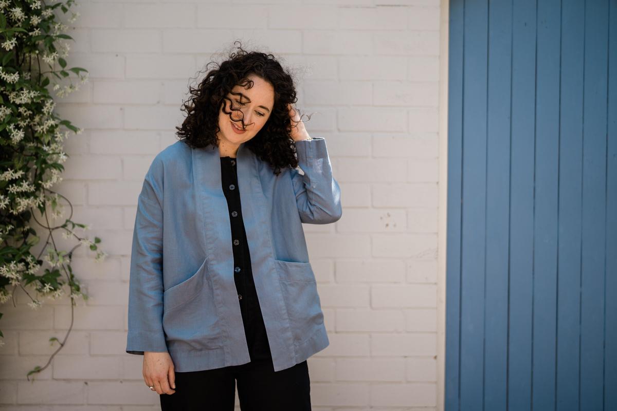 Hovea Summer Jacket | Megan Nielsen Patterns