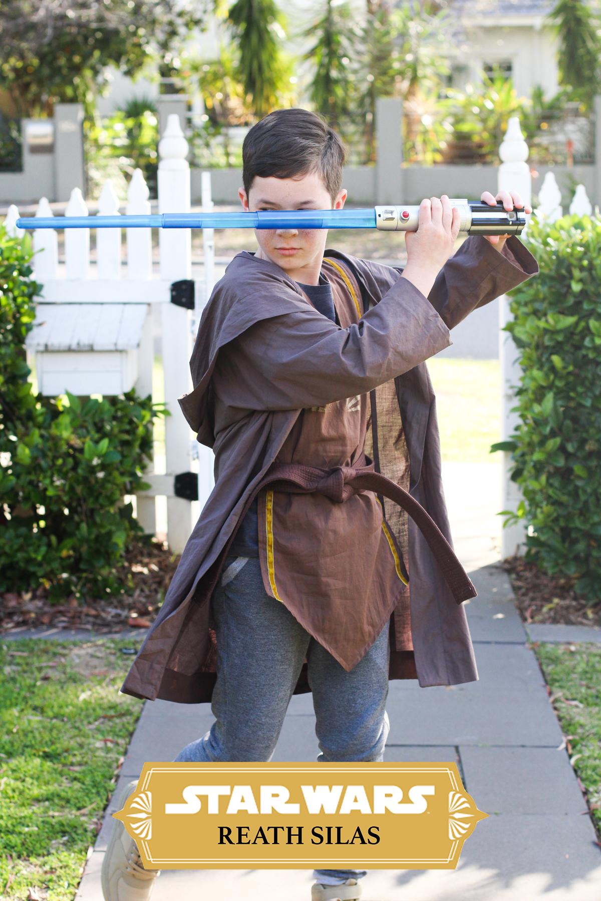 Reath Silas Star Wars Jedi Costume | Megan Nielsen Blog