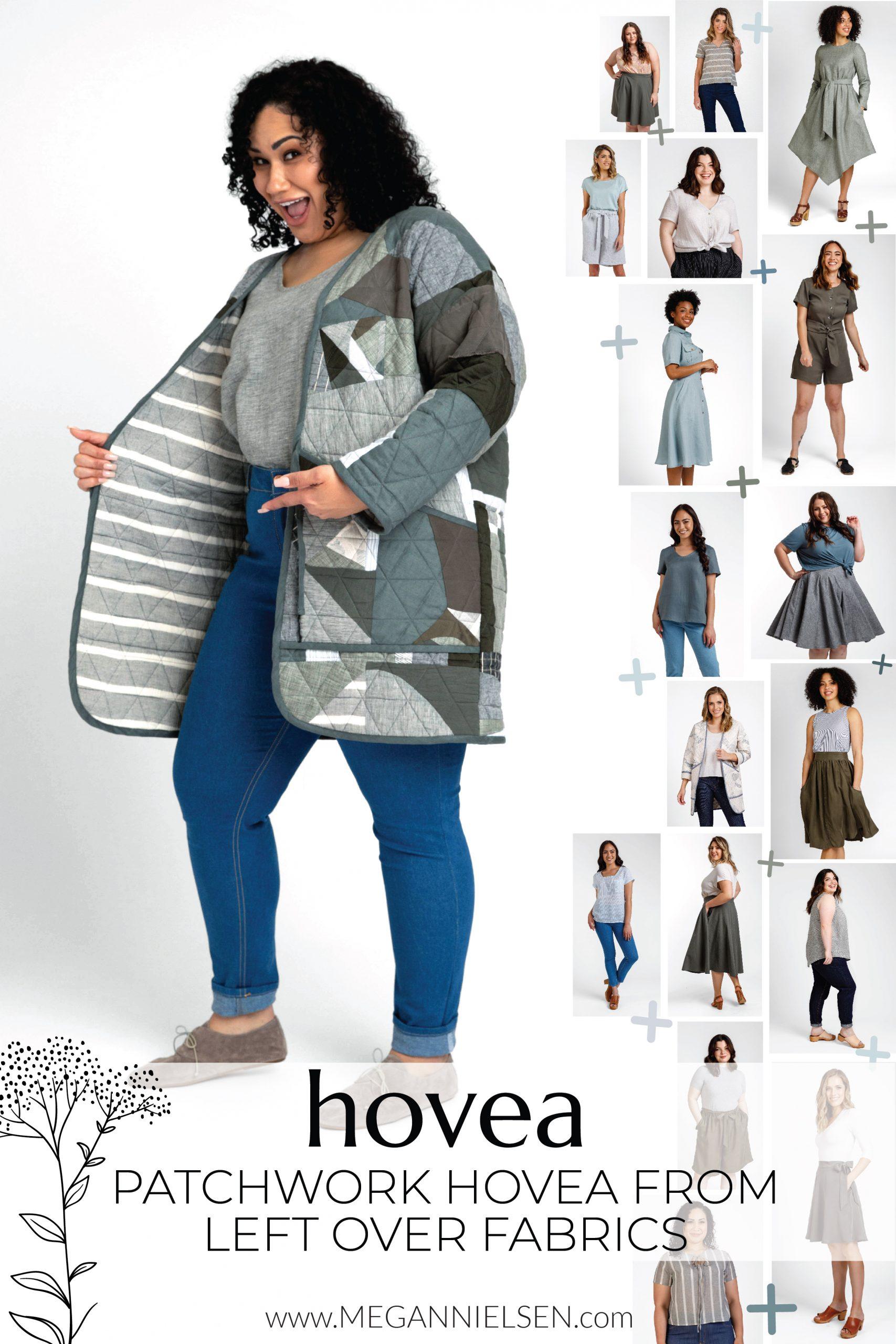 Megan Nielsen Patterns | Patchwork Hovea From Leftover Fabrics